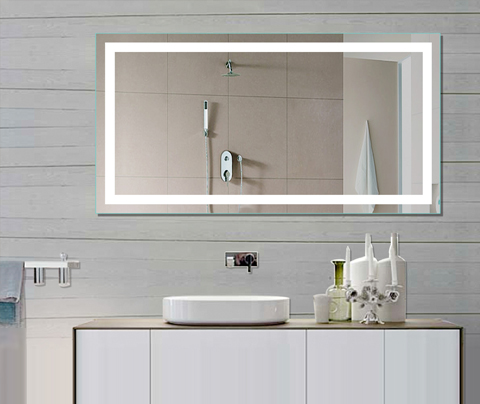 backlit bathroom mirrors led bath mirror Reviews